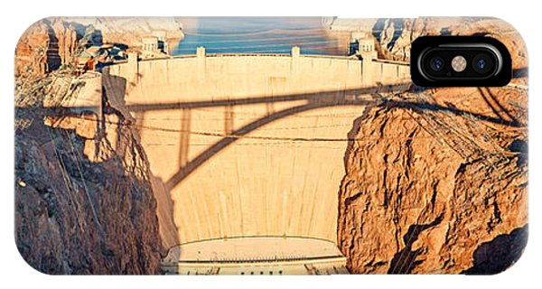 Hoover Dam From Bridge, Lake Mead IPhone Case
