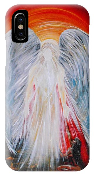 Hope In Hell - Michael Archangel Series IPhone Case