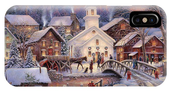 Barn iPhone Case - Hope Runs Deep by Chuck Pinson