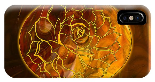 Hope Springs Eternal Abstract Healing Art IPhone Case