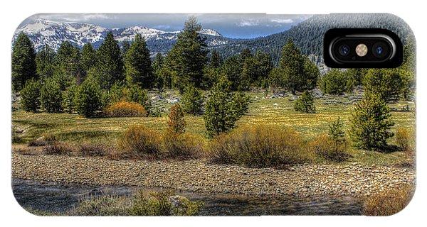 Hope Valley Wildlife Area IPhone Case