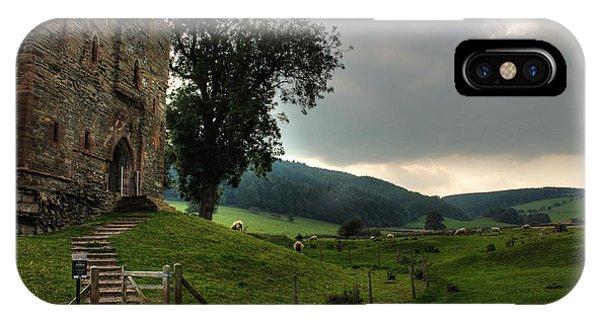 Hopton Castle IPhone Case