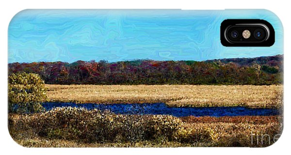 Horicon Marsh iPhone Case - Horicon Marsh - Digital Oil by Mary Machare