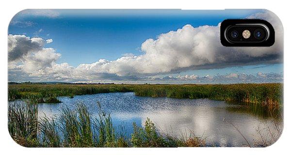 Horicon Marsh iPhone Case - Horicon Marsh Wisconsin by Ricky L Jones