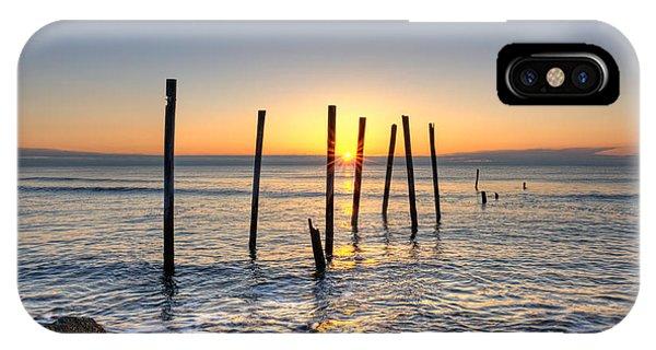 Horizon Sunburst IPhone Case