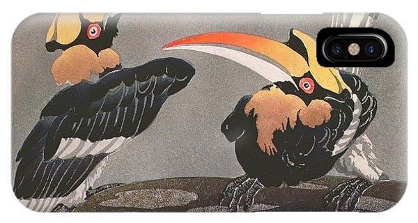 Hornbills IPhone Case