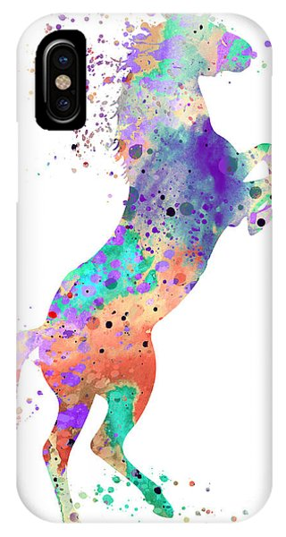 Cute iPhone Case - Horse 5 by Watercolor Girl