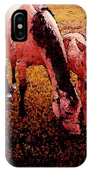 Horse And Colt IPhone Case