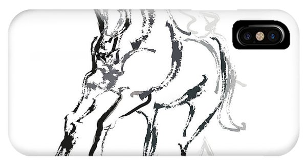 Horse- Andalusian Angel IPhone Case