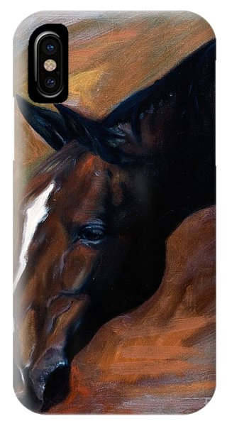 horse - Apple copper IPhone Case