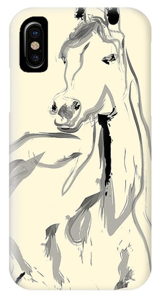 Horse - Arab IPhone Case