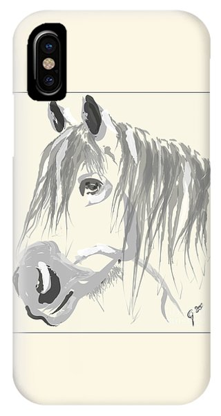 Horse- Big Jack IPhone Case
