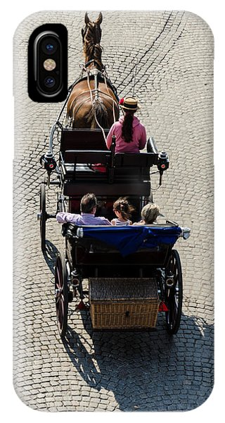 Horse Drawn Carriage IPhone Case