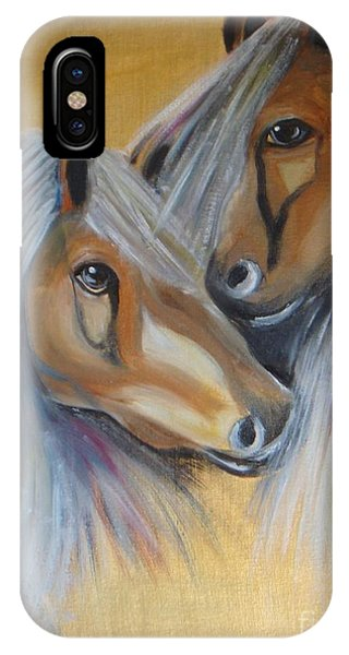 Horse Duo IPhone Case