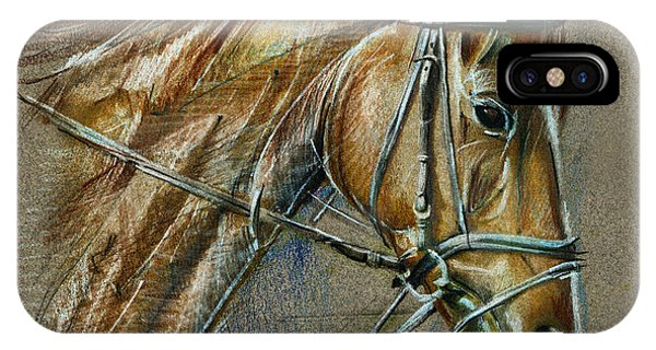 My Horse Face Drawing IPhone Case