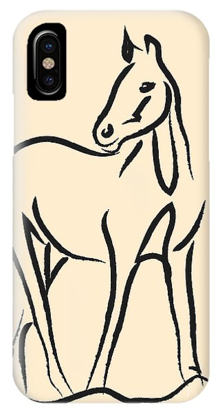 Horse - Grace IPhone Case