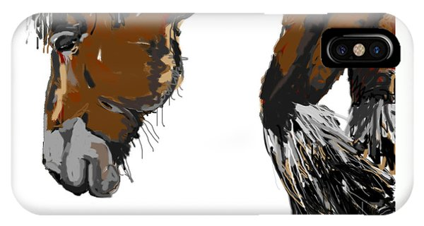 horse - Guus IPhone Case