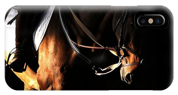 Horse In The Shade IPhone Case