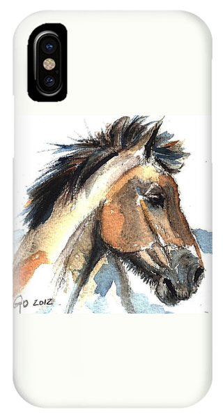 Horse-jeremy IPhone Case