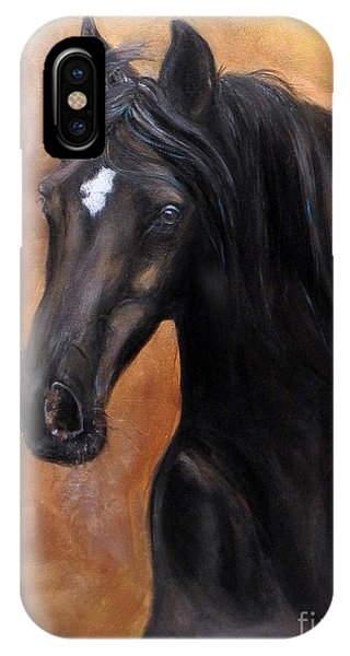 Horse - Lucky Star IPhone Case