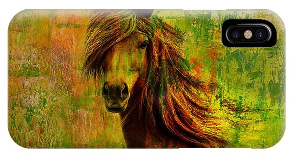 Horse Paintings 001 IPhone Case