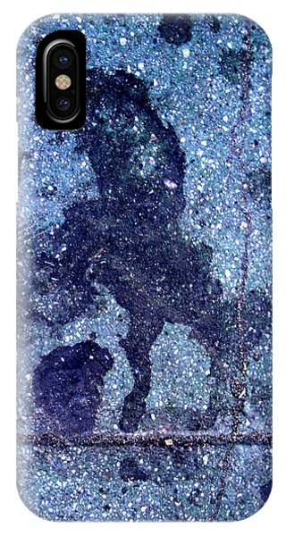 Horse Smashing Evil On Skid Row IPhone Case