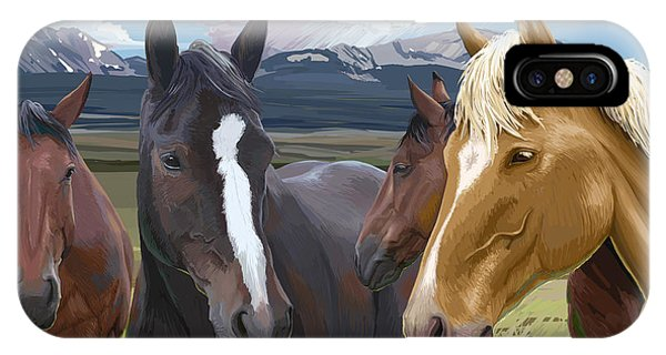 Horse Talk IPhone Case