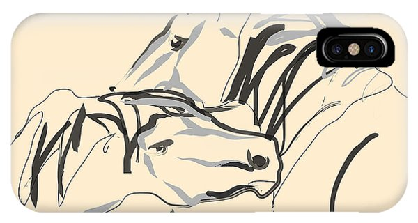Horse - Together 4 IPhone Case