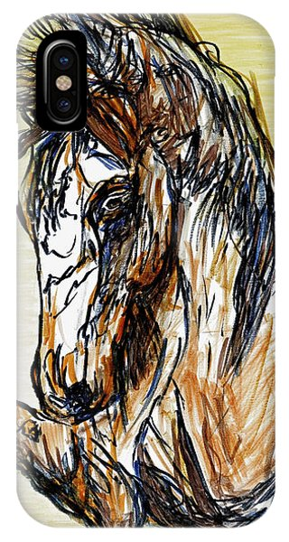 Horse Twins II IPhone Case