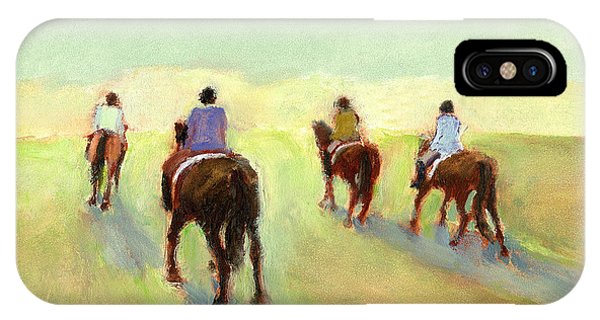 Horseback Riders IPhone Case