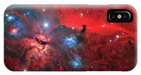 Horsehead And Flame Nebulae IPhone Case