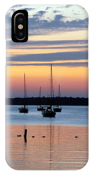 Horsehoe Island Sunset IPhone Case