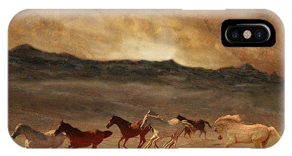 Horses Of Stone IPhone Case