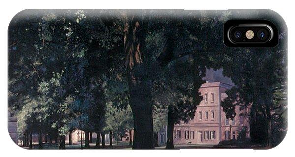 Gamecocks iPhone Case - Horseshoe At University Of South Carolina Mural 1984 by Blue Sky