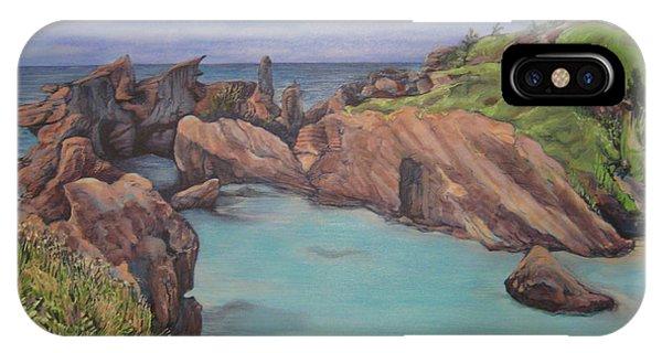 Horseshoe Bay Beach Bermuda IPhone Case