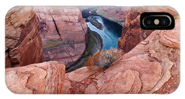 IPhone Case featuring the photograph Horseshoe Bend At Dawn by Mae Wertz