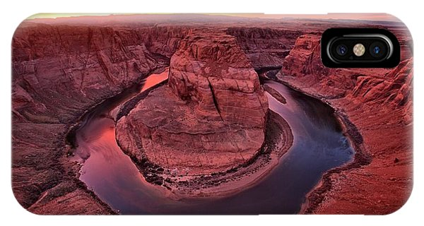 Horseshoe Bend Sunset IPhone Case