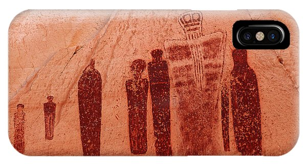 Horseshoe Canyon Pictographs IPhone Case