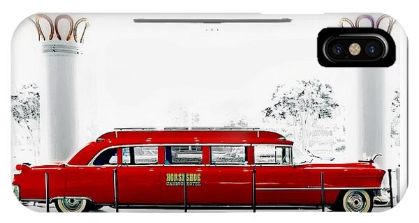 Horseshoe Fleetwood Cadillac Limousine IPhone Case