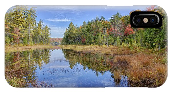 Horseshoe Lake Hdr 01 IPhone Case