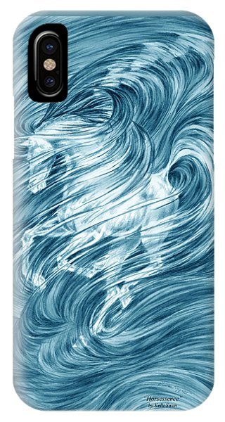 Horsessence - Colorized Fantasy Dream Horse Print IPhone Case