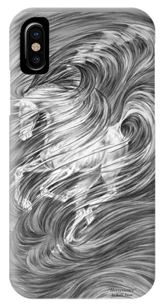 Horsessence - Fantasy Dream Horse Print IPhone Case