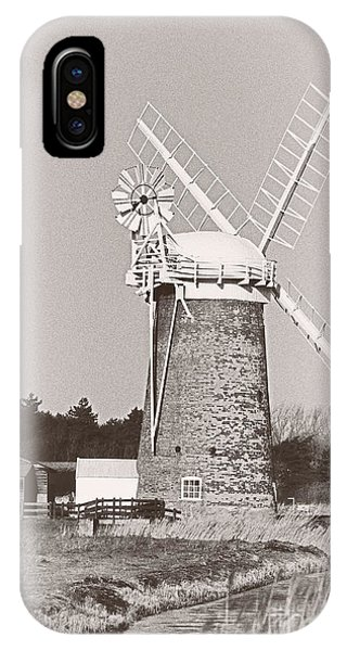 Horsey Wind Pump Vertical IPhone Case