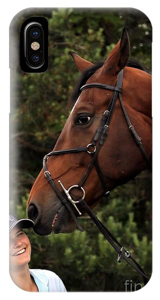 Horsie Nudge IPhone Case