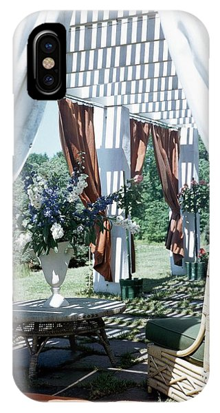 Horst's Patio In Long Island IPhone Case