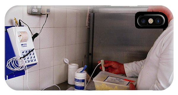 Hospital Food Check Phone Case by Antonia Reeve/science Photo Library