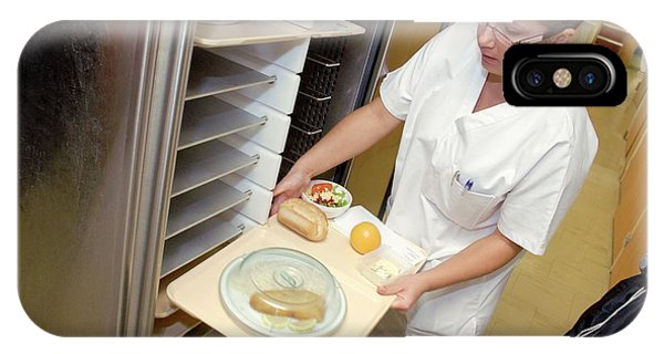 Hospital Food Service Phone Case by Aj Photo/science Photo Library