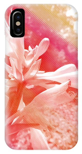 Analogous Color iPhone Case - Hosta Flower by Shawna Rowe