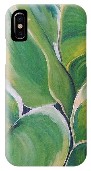 Hosta Garden IPhone Case