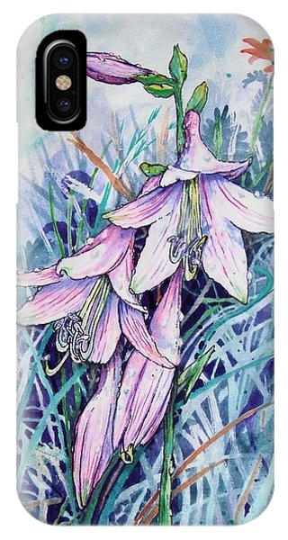 Hosta's In Bloom IPhone Case